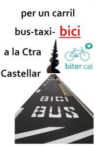 carril bus octaveta cartell